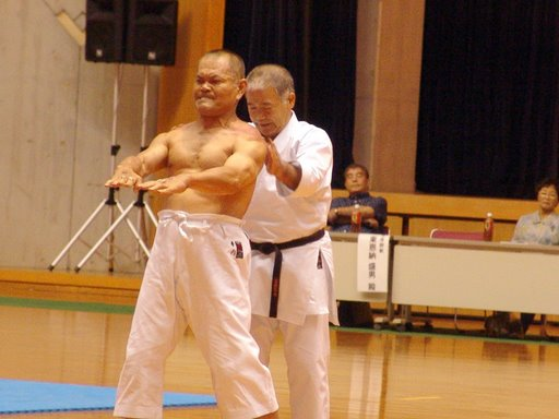 Sanchin Kata Goju Ryu http://www.iogkfspain.com/index.php?option=com_content&view=article&id=48&Itemid=47&lang=en